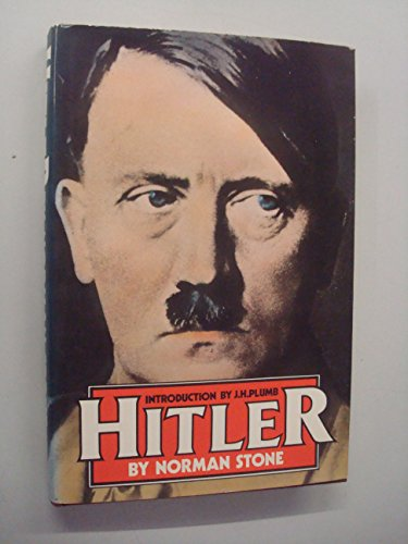 Hitler By Norman Stone