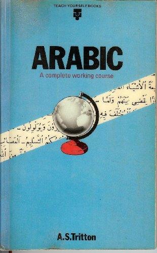 Arabic (Teach Yourself) By A. S. Tritton