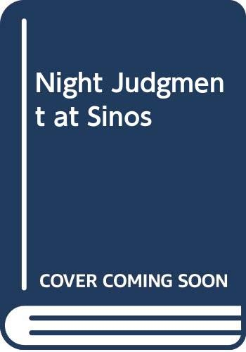 Night Judgment at Sinos By Jack Higgins