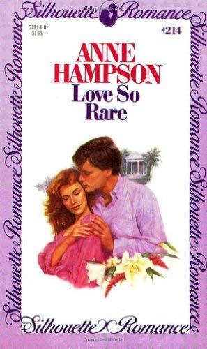 Love So Rare By Anne Hampson