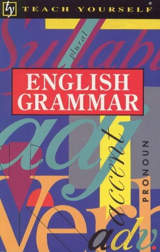 Teach Yourself English Grammar By B.A. Phythian
