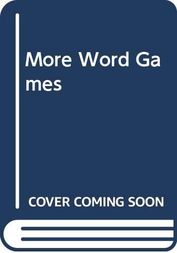 More Word Games By Sandy Brownjohn