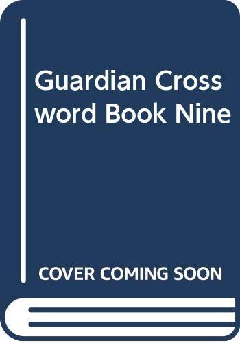Guardian Crossword Book Nine By John Perkin