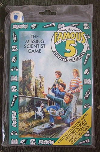 The Missing Scientist Game By Enid Blyton