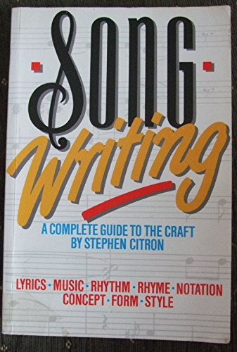 Songwriting By Stephen Citron