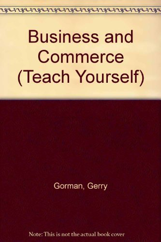 Business and Commerce By Gerry Gorman
