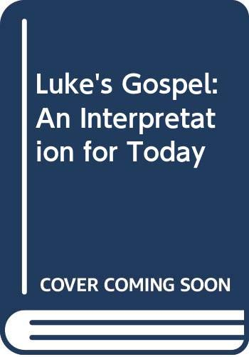 Luke's Gospel By Robin Cooper
