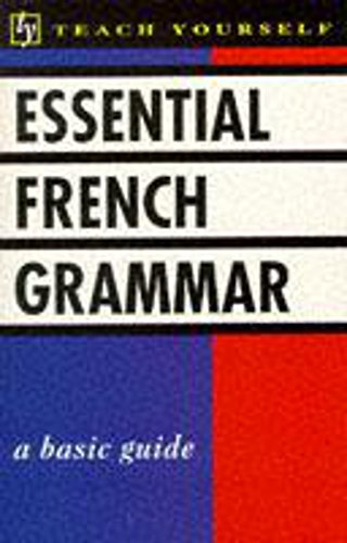 Teach Yourself Essential French Grammar (TYL) By Seymour Resnick
