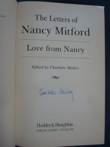 Love From Nancy By Charlotte Mosley