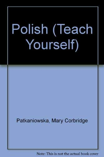 TY Polish 3ED (Teach Yourself) By Mary Corbridge Patkaniowska