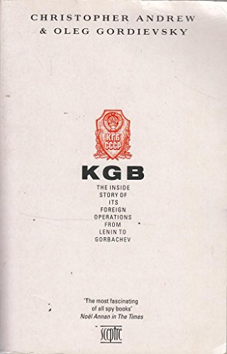 K. G. B. By Christopher Andrew