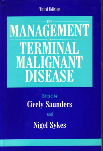 MMDS TERMINAL MALIGNANT DISEASE 3RD EDITION By Cicely Saunders