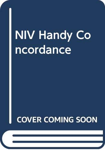 NIV Handy Concordance By Edward W. Goodrick