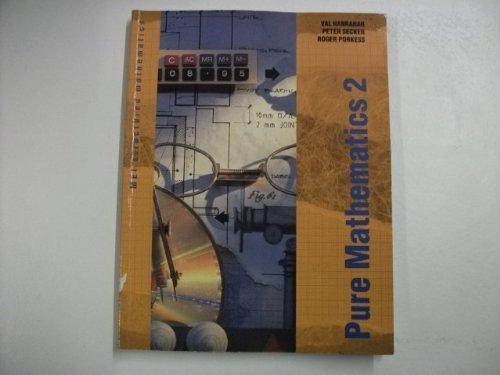 Pure Mathematics By Val Hanrahan