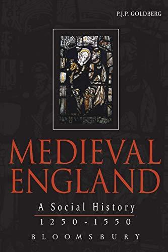 Medieval England By P.J.P. Goldberg