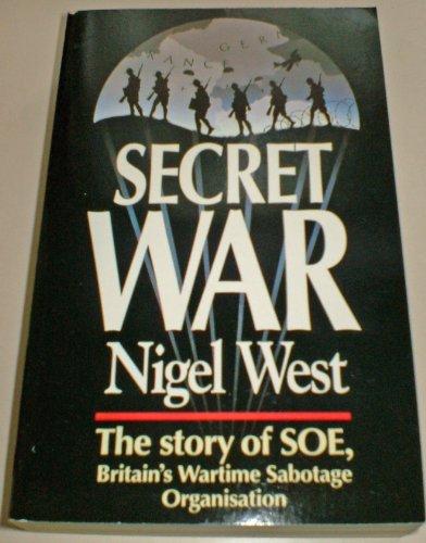 Secret War By Nigel West