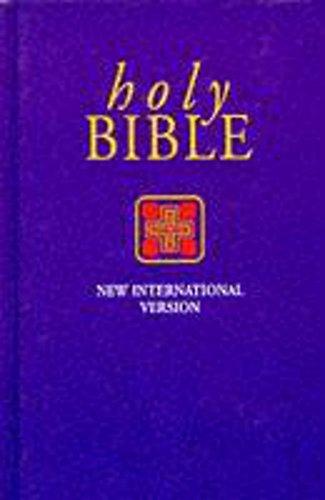 NIV Popular Economy Bible Purple hardback By Uk International Bible Society
