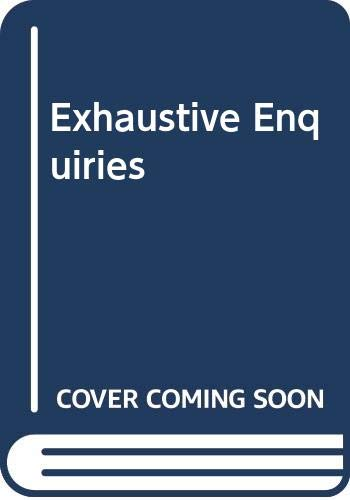 Exhaustive Enquiries By Betty Rowlands