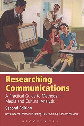 Researching Communications By D. H. Deacon