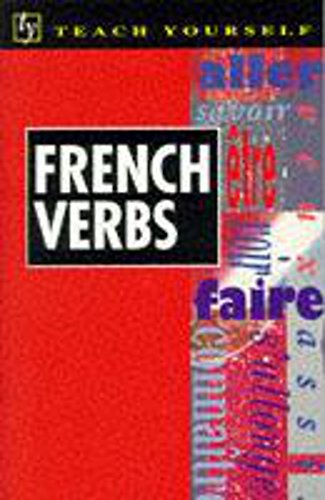 Teach Yourself French Verbs By Marie Therese Weston