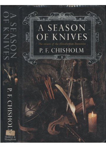 Season of Knives by Chisholm, P. F. Hardback Book The Cheap Fast Free Post