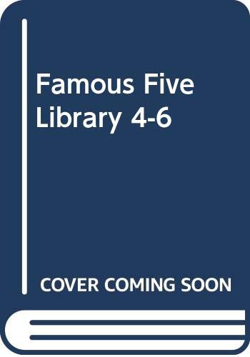 Famous Five Library 4-6 By Enid Blyton