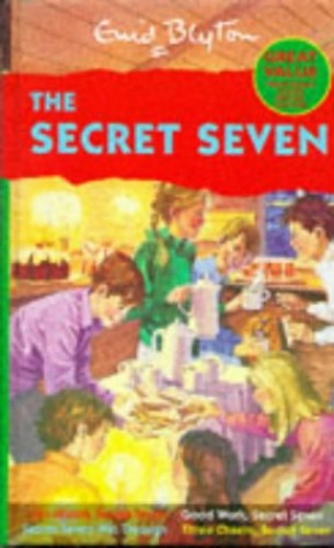 Secret Seven Library:Go Ahead, Secret Seven,Good Work, Secret Seven,Secret Seven Win Through,Three Cheers, Secret Seven Bks. 5-8 By Enid Blyton