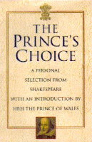 The Prince's Choice By William Shakespeare
