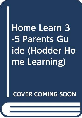 3-5 Parents' Guide (Hodder Home Learning) by Fitzsimmons, Jim Paperback Book The