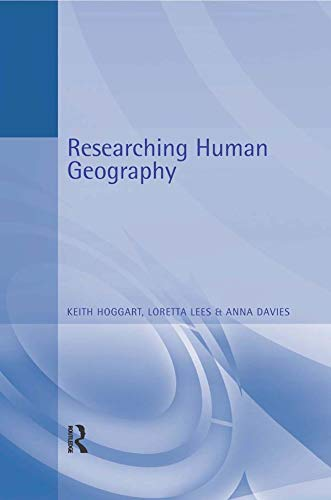Researching Human Geography By Anna Davies