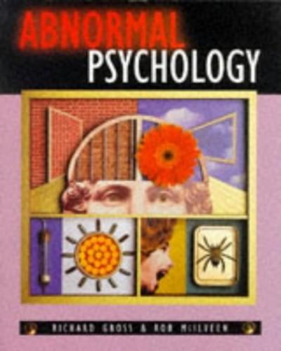 Abnormal Psychology By Richard Gross