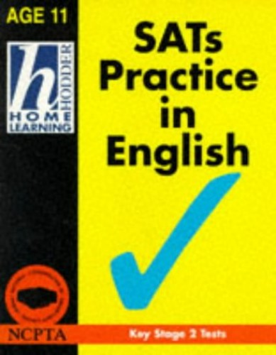 Hodder Home Learning: SATs Practice in English, Age 11 By Jim Fitzsimmons