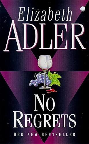 No Regrets By Elizabeth Adler