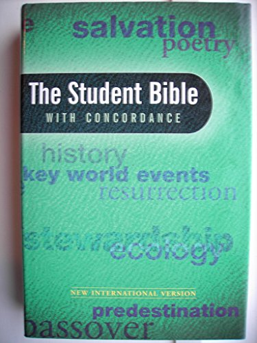 NIV Student Bible + Concordance By Volume editor Philip Yancey