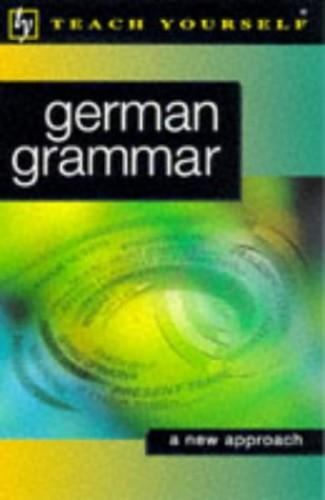 Teach Yourself German Grammar By Jenny Russ
