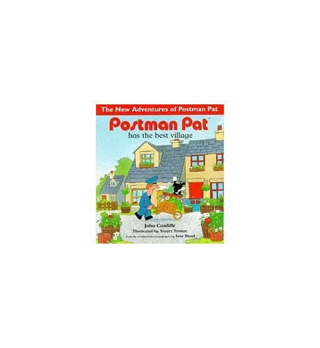 Postman Pat Has the Best Village By John Cunliffe