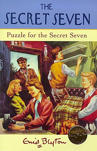 Puzzle For The Secret Seven: Book 10 by Enid Blyton