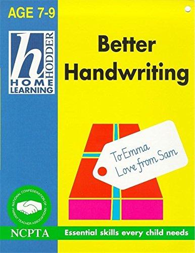 Better Handwriting By Rhona Whiteford