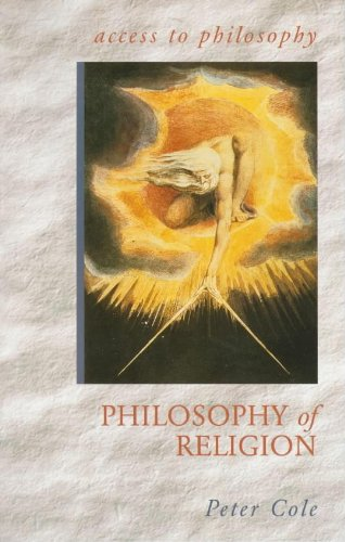The Philosophy of Religion By Peter Cole