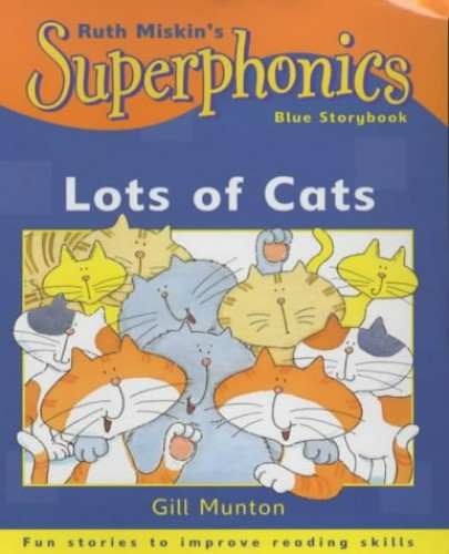 Superphonics-Blue-Storybook-Lots-Of-Cats-by-Munton-Gill-0340773545-The-Cheap