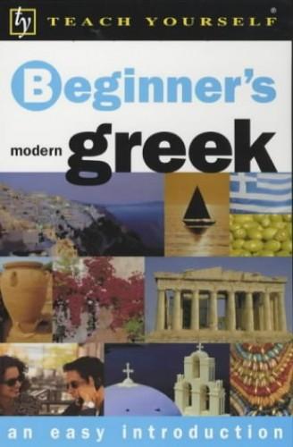 Teach Yourself Beginner's Greek By Aristarhos Matsukas