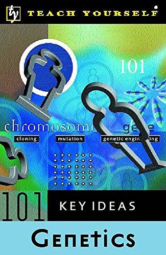 Teach Yourself 101 Key Ideas - Genetics By Morton Jenkins