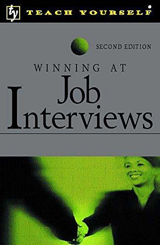 Winning at Job Interviews by Igor Popovich