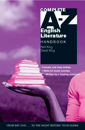 The A-Z English Literature Handbook By Neil King