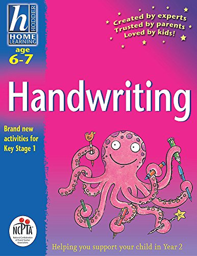 Hodder Home Learning: Age 6-7 Handwriting By Rhona Whiteford