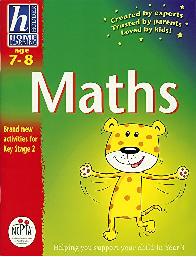 Hodder Home Learning: Age 7-8 Maths By Sue Atkinson