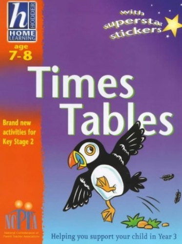 Hodder Home Learning: Age 7-8 Times Tables By Sue Atkinson