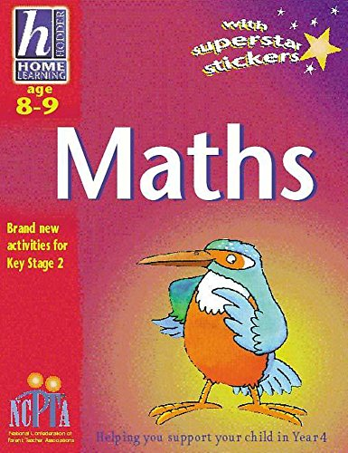 Hodder Home Learning: Age 8-9 Maths By Sue Atkinson