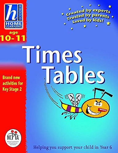 Hodder Home Learning: Age 10-11 Times Tables By Sue Atkinson