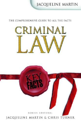 Criminal Law By Jacqueline Martin